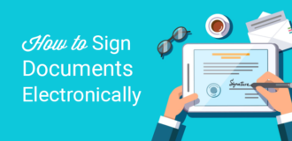 how to sign documents electronically in wordpress