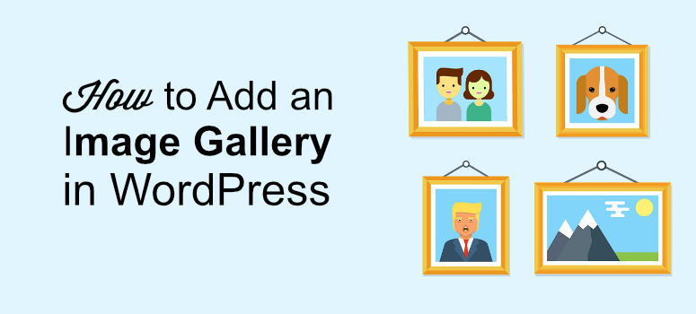 image galleries in wordpress