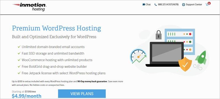 InMotion Hosting, free SSL