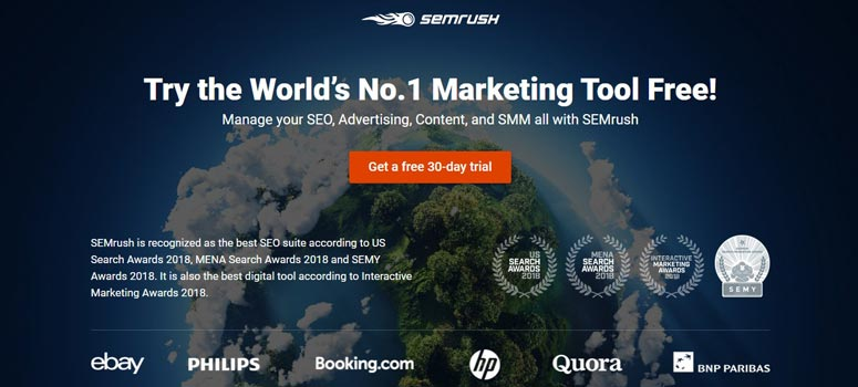 SEMRush SAAS Black Friday Deals