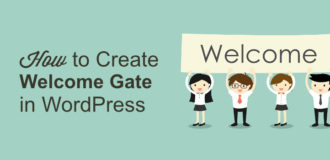 optinmonster, welcome gate, wp welcome gate, list building