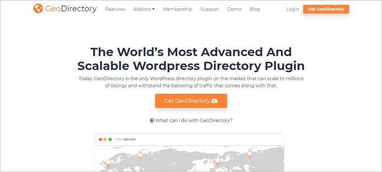 WP Geo Directory
