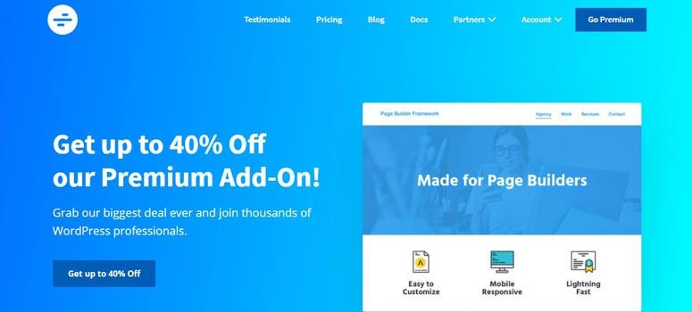WP Pagebuilder Framework