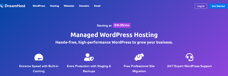 Managed WordPress Hosting DreamPress