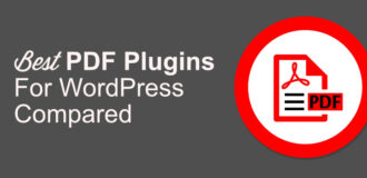 PDF plugin for WordPress