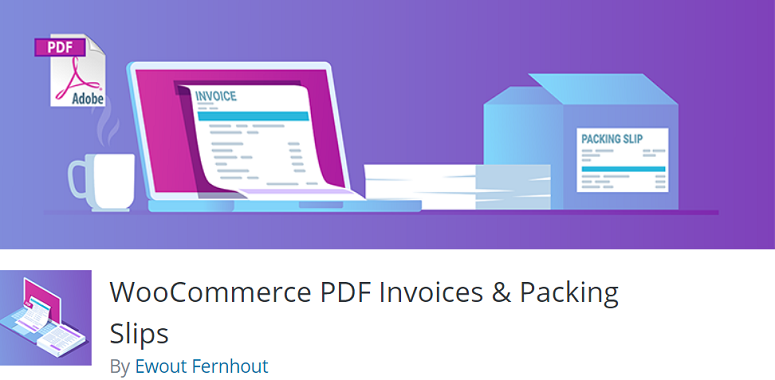 WooCommerce PDF Invoices & Packing plugin
