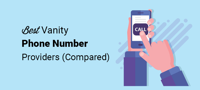 best vanity phone number providers compared