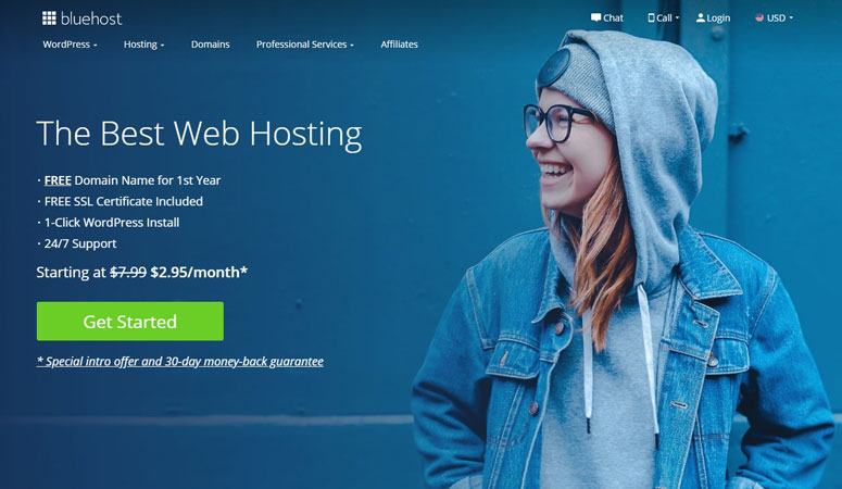 Bluehost Discount Code, bluehost web hosting