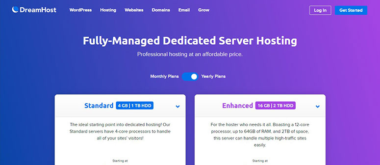 DreamHost Dedicated Server