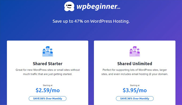 DreamHost Web Hosting Pricing