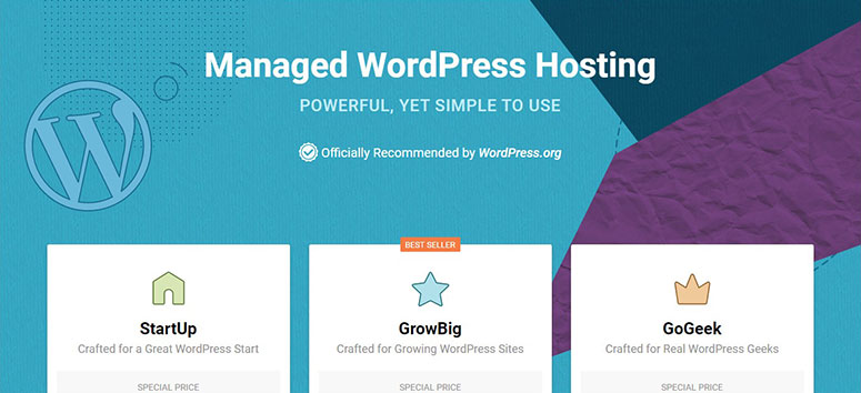 SiteGround coupon code for WordPress Hosting