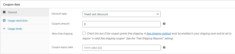 Disable Woocommerce coupon