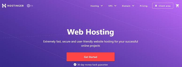 Hostinger, free ssl, monthly billing hosting