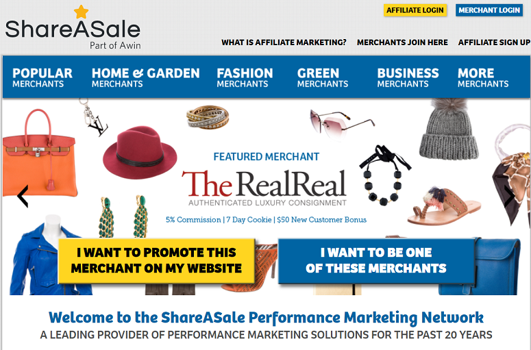 ShareASale, affiliate network