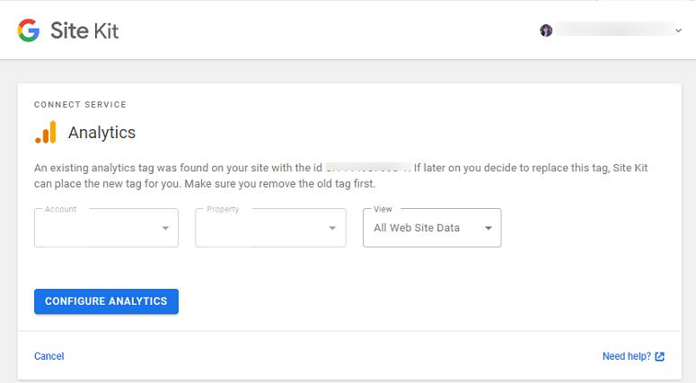 Site Kit by Google Analytics