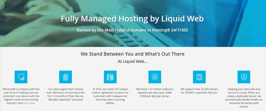 liquid web hosting review for fully managed services