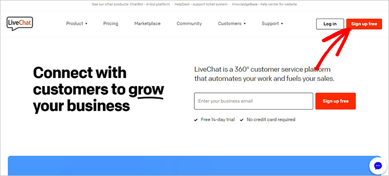 LiveChat Website