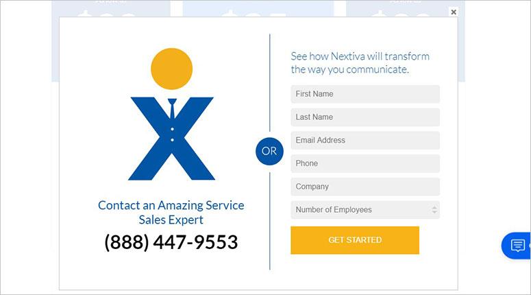 Nextiva sign up