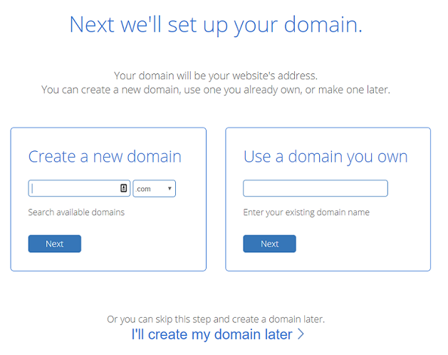 Bluehost domain names, free domain name