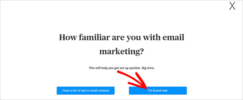 Email Marketing Familiarity