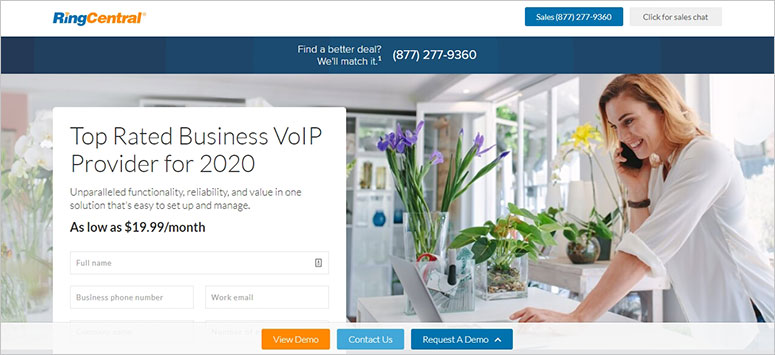 RingCentral site
