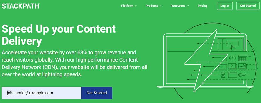 StackPath Website