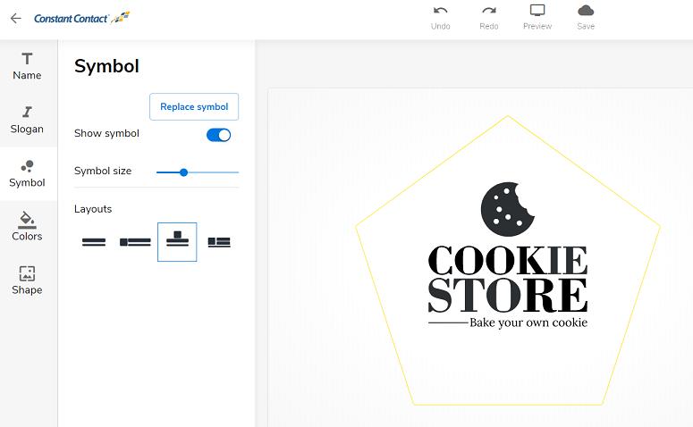 Constant Contact free logo maker