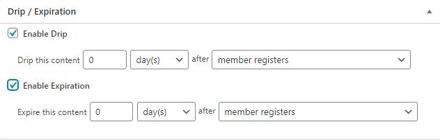 Drip MemberPress