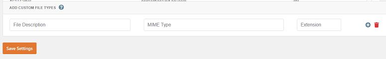 File Upload Type, WPForms