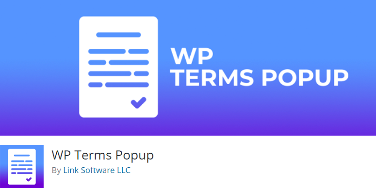 WP Terms Popup, privacy policy generator