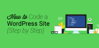 how to code a wordpress site