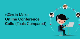 how to make online conference calls