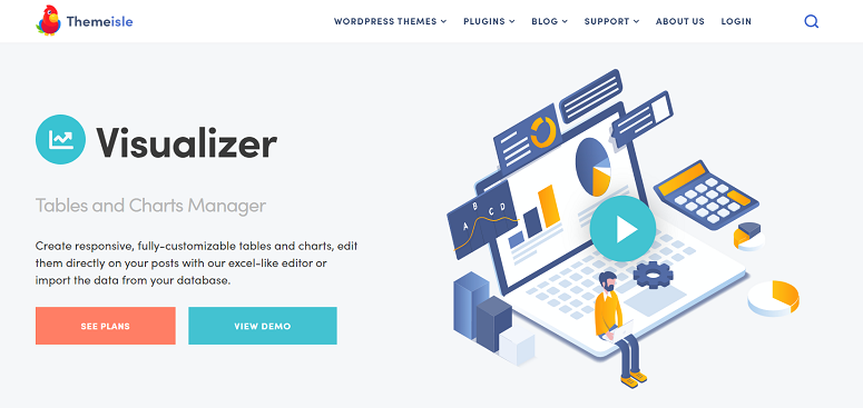 Visualizer Pro, data visualization plugins