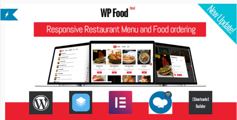 WP Food, restaurant menu plugins