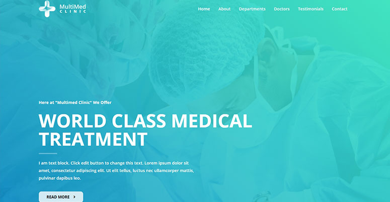 Astra Medical Theme