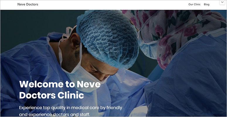 Neve Medical Theme