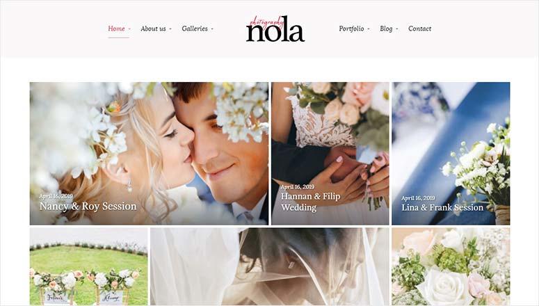 Nola Photography Theme
