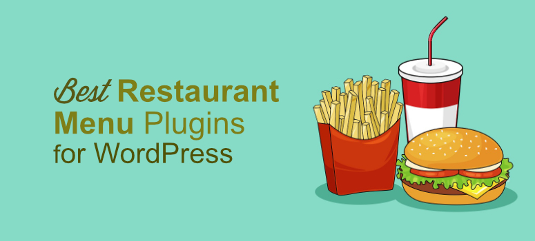 restaurant menu plugins