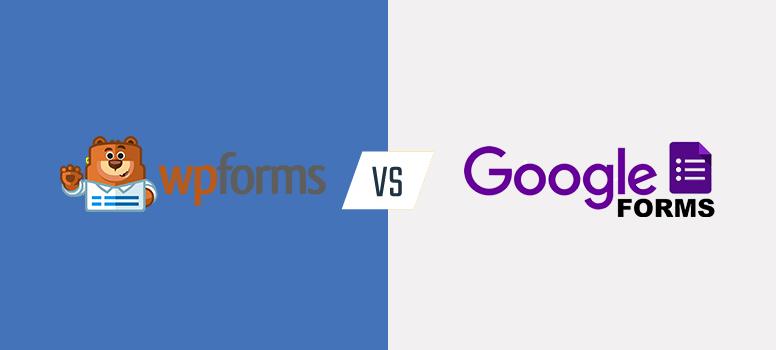 wpforms vs. google forms