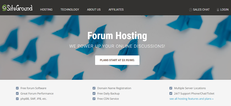 Forum_Hosting, SiteGround
