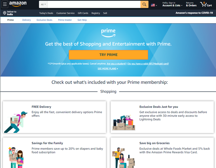 amazon prime subscription box business example