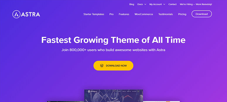 Astra 404 Page, wiki themes