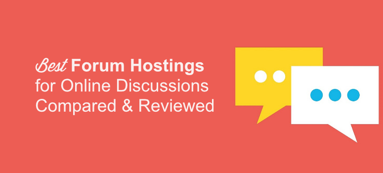 best forum hostings