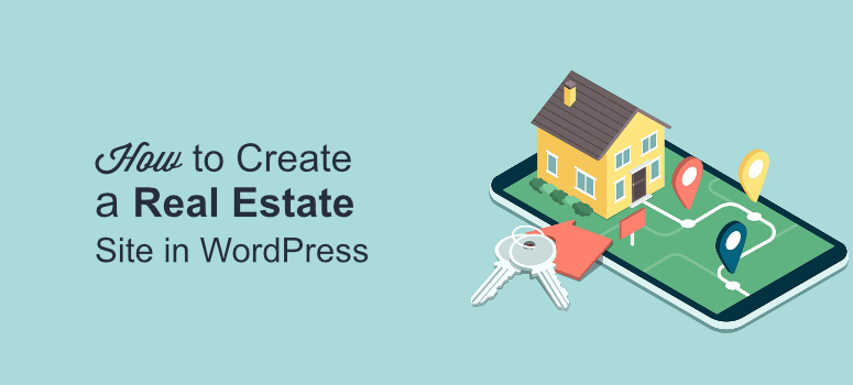create real estate site in wp