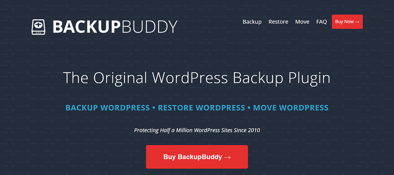 BackupBuddy migration plugin, backup plugin