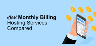 Monthly billing hosting services