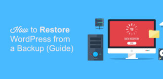 Restore Wp from a backup