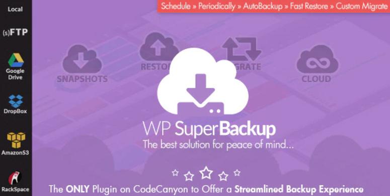 WP super backup & Clone