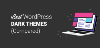 Best Dark WordPress Themes