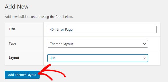 Adding 404 error page